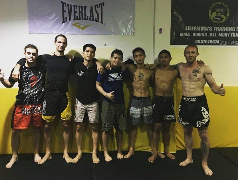 Training with UFC veteran, Tommy 'Wild Card' Hayden
