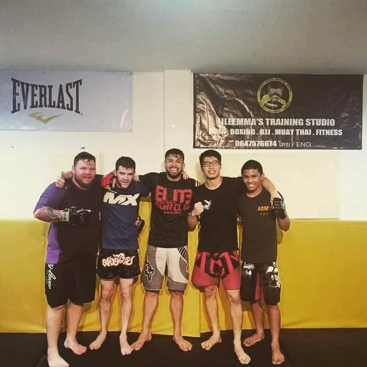 Pro training with Full Metal Dojo Welterweight Champion, Javier Trujillo